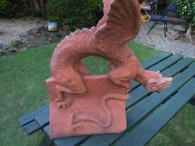 Terra Cotta Stone Dragon