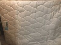 Double mattress silent night coil sprung