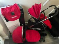 ICandy PushChair and Pram with Accessorises