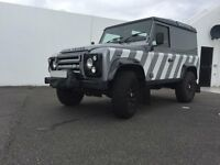 **PRICED TO SELL** - 2013 Land Rover Defender 90 2.2d X-TECH LE HT Limited Edition