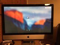 """Apple iMac - 27"""", 3.1GHz qc, 10GB RAM, 1TB"""