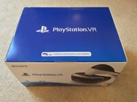 Sony PlayStation VR PSVR headset and new model PS4 Camera - boxed, excellent condition