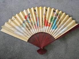 Large Oriental Fan