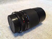 Konica Hexanon lens 135mm f/3.2