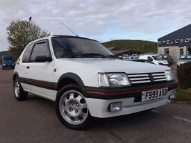 1988 (F) Peugeot 205 1.9 GTI - Excellent Example