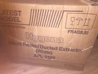 Cooker hood extractor fan. New boxed