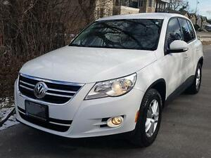 2010 Volkswagen Tiguan AUTO 4MOTION LOADED LOWKMS CERTIFIED  $11
