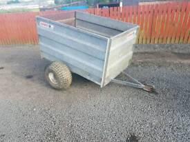 Logic quad atv livestock trailer farm livestock tractor