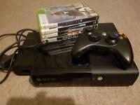 Xbox 360 E 500GB and 4 games