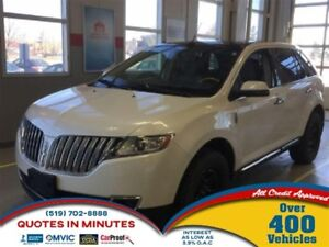 2012 Lincoln MKX AWD | NAVIGATION | DVD | LEATHER