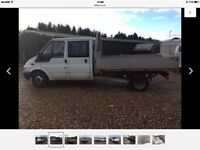 Ford transit mk6 9'6 alloy flat bed