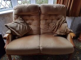 Cottage style 2 seater sofa