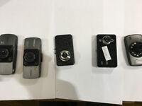 Joblot Car dash camera used, untest, damaged, second hand