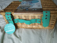 2 person picnic basket by The Optima Company Ltd - never used.