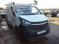 **For breaking** 2016 Vauxhall Vivaro 1.6 diesel (6 speed).