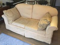 FREE Yellow 2-seater sofa - collection only