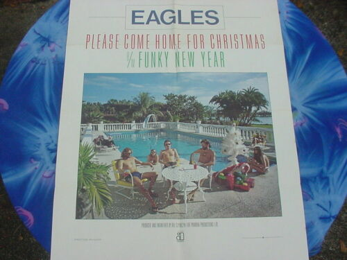 EAGLES, PLEASE COME HOME FOR CHRISTMAS POSTER,FUNKY NEW YEAR,