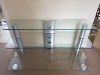 Sonorous glass AV/HiFi rack