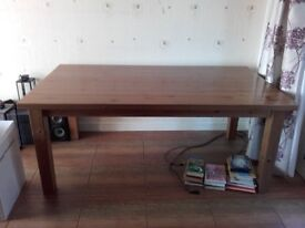 Large family dining table from Ikea