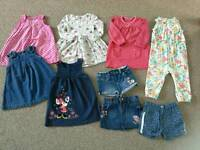 Bundle of clothes size 12 to 18 months