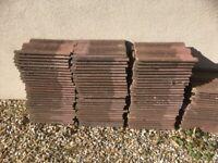 Weathered Redland 50 Double roman roof tiles