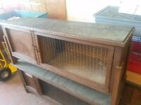 Rabbit or Guineapig hutch in good condition