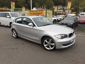 BMW 1 SERIES 2.0 118d Sport 3dr (silver) 2010