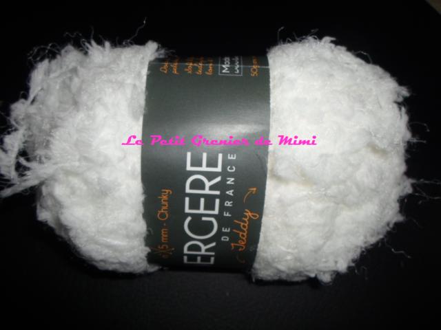 Bergère de France - Teddy - Blanc