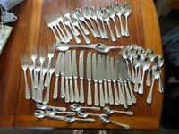 Viners Cutlery 58 pieces EPNS