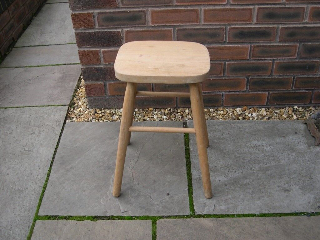 Prime An Attractive Small Four Legged Wooden Stool In Warrington Cheshire Gumtree Ibusinesslaw Wood Chair Design Ideas Ibusinesslaworg