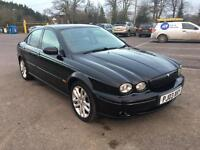 2003 Jaguar x type Sport 2.5 - 4 wheel drive - 12 months warrantee - 12 months MOT