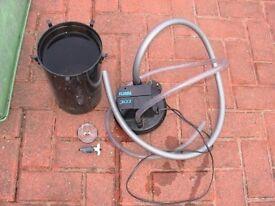 Fluval 303 external filter for fish tank aquarium kof-----water not flowing