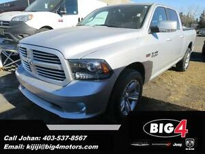 2014 Ram 1500 Sport, Fully Loaded, Sunroof, BT, PRICE DROPPED!!!