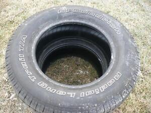 Two 265-65-17 tires $90.00