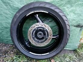 Suzuki Gsr 600 wheel and tyre