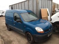 Renault Kangoo diesel 2003 Year - Parts Available injector - light - radiator