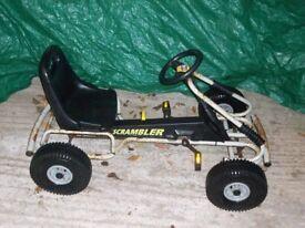 kettler pedal gocart