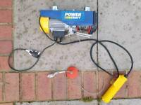 Power craft 3972 electric cable hoist