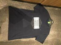 Mens Hugo Boss Green T-Shirt