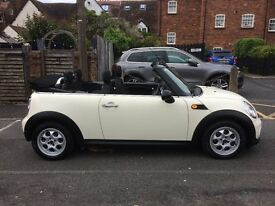 MINI Convertible 1.6 One (salt pack) 2dr