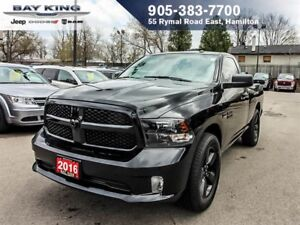 2016 Ram 1500 ST, BACKUP CAM, BLUETOOTH, SPRAY IN BEDLINER