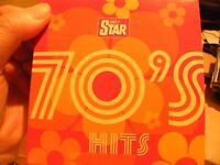 Daily Star - 70's Hits - Promo CD -New -8 Great Tracks