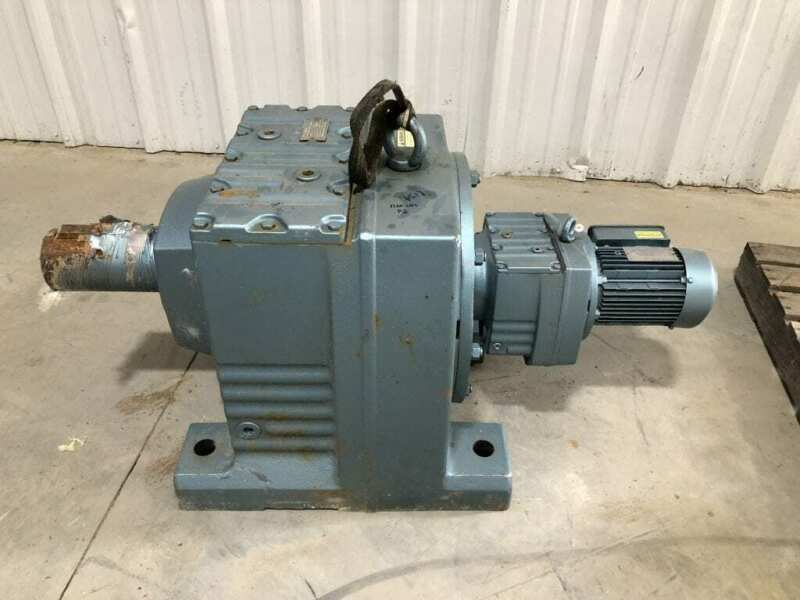 Sew-Eurodrive R147R77DT80K4TH Speed Reducer 1700RPM 4926:1 w/ 3/4HP 3PH