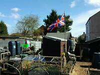 Plot available at South Normanton Allotments