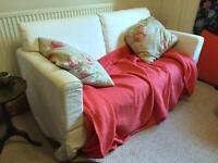 Small White Ikea Sofa for sale