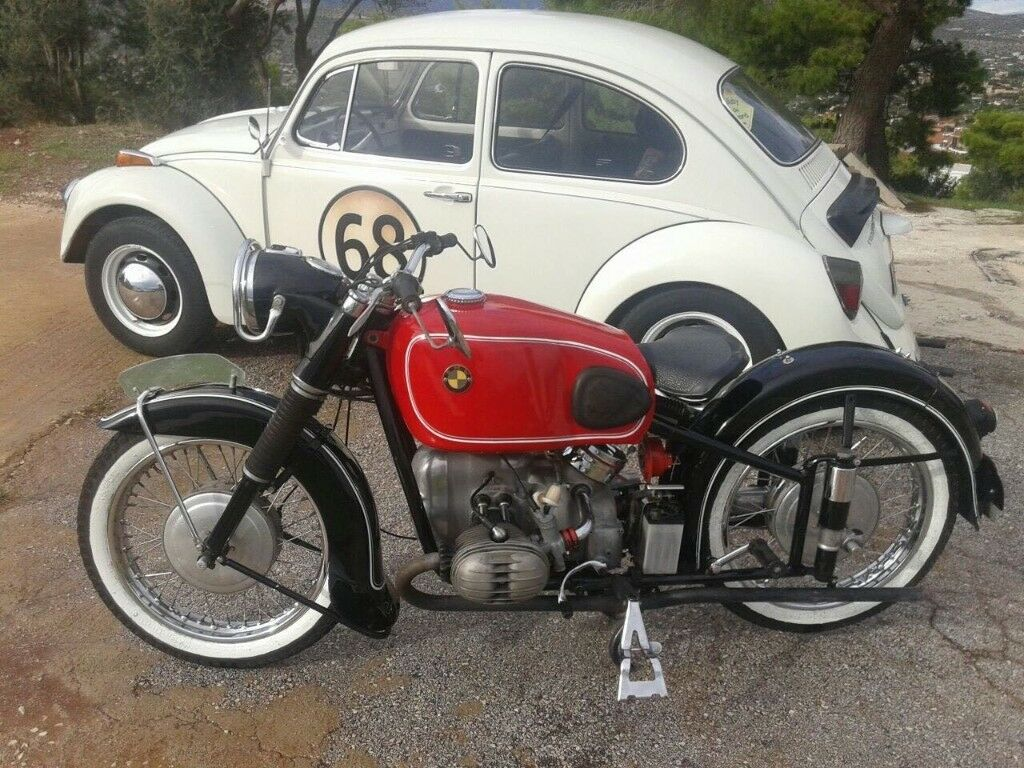VINTAGE BMW MOTORBIKE BMW R51/3 1954 for sale. | in Staines-upon ...