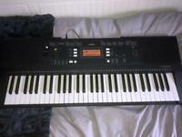 Yamaha PSR-E343 Touch Sensitive Portable Keyboard (with sustain pedal)