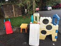 Little tikes outside play