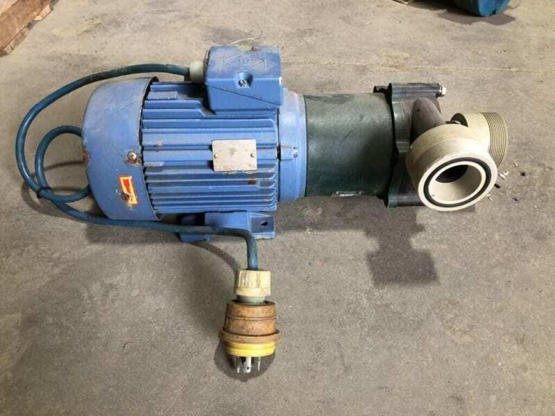Bohncke PME-3030 PP/Viton 2HP Magnetic Drive Pump 2910RPM 230/400V 20A 50Hz 3PH