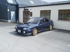 SUBARU WRX TURBO JAP IMPORT NICE SPEC SOLID SHELL NEVER BEEN WELDED MAY PX NO OFFERS